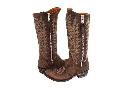 Old Gringo Razz (Brown) Cowboy Boots
