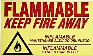 Eagle C-97 Flammable Keep Fire Away Decal