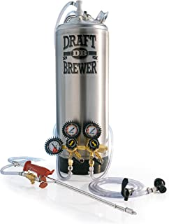 Draft Brewer Tap-N-Fill Keg System, New Keg and Equipment