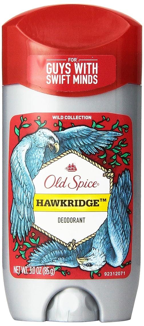 吸収剤独立した反対したOld Spice (オールドスパイス) Wild Collection Deodorant デオドラント Hawkridge/ホークリッジ - 85g 3 oz [並行輸入品]