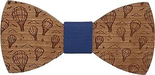 Fibbia regolabile Disegno ispirato alla mitica moto Collezione moda-uomo: linea da matrimonio e cerimonie Regalo originale Farfallino fatto a mano Papillon di legno La Vespa