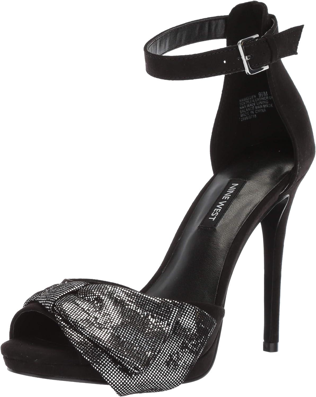 Nine West Damen Bellen Fabric Sandalen mit Absatz Absatz  zum Verkauf 70% Rabatt