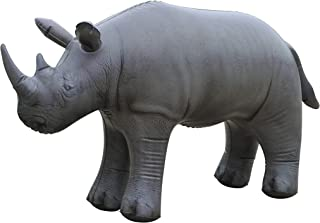 Rhino Inflatable Animal Baby White Rhinoceros wild life 36 inches party decoration stuffed animal photo prop by Jet Creations AN-RHINO
