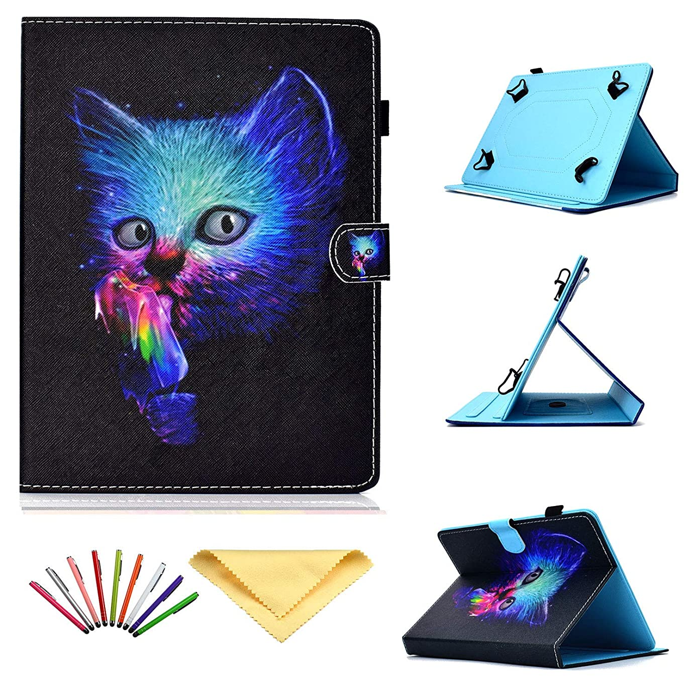 Uliking Universal Case for 8 inch Tablets, Stand Cover with Pencil Holderfor 7.9