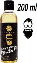 Glowsik Beard Oil for Growing Beard and Mooch - 200ml for Men