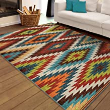 product image for Orian Rugs Indoor/Outdoor Rugs Promise Prescott Multi 7' X 10'