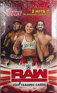 2019 TOPPS WWE RAW - Hobby Box