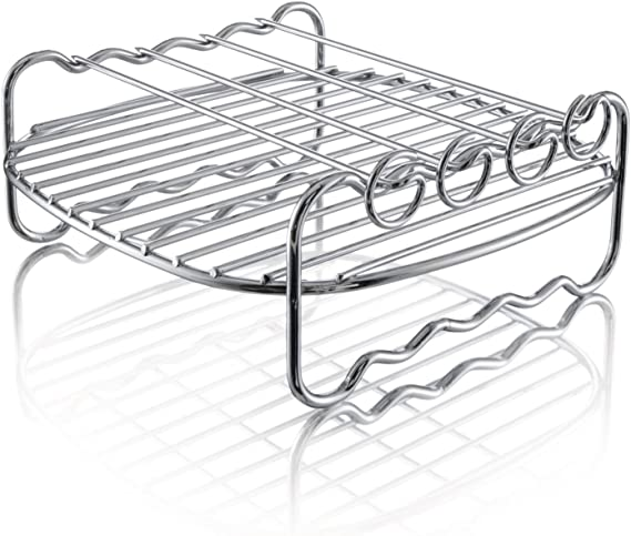 Philips Airfryer Double Layer Rack with Skewers- HD9904/00