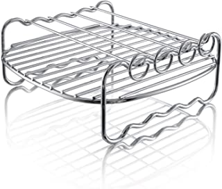 Philips Airfryer Double Layer Rack with Skewers- HD9904/00, For HD9220, HD9621, HD9641 models