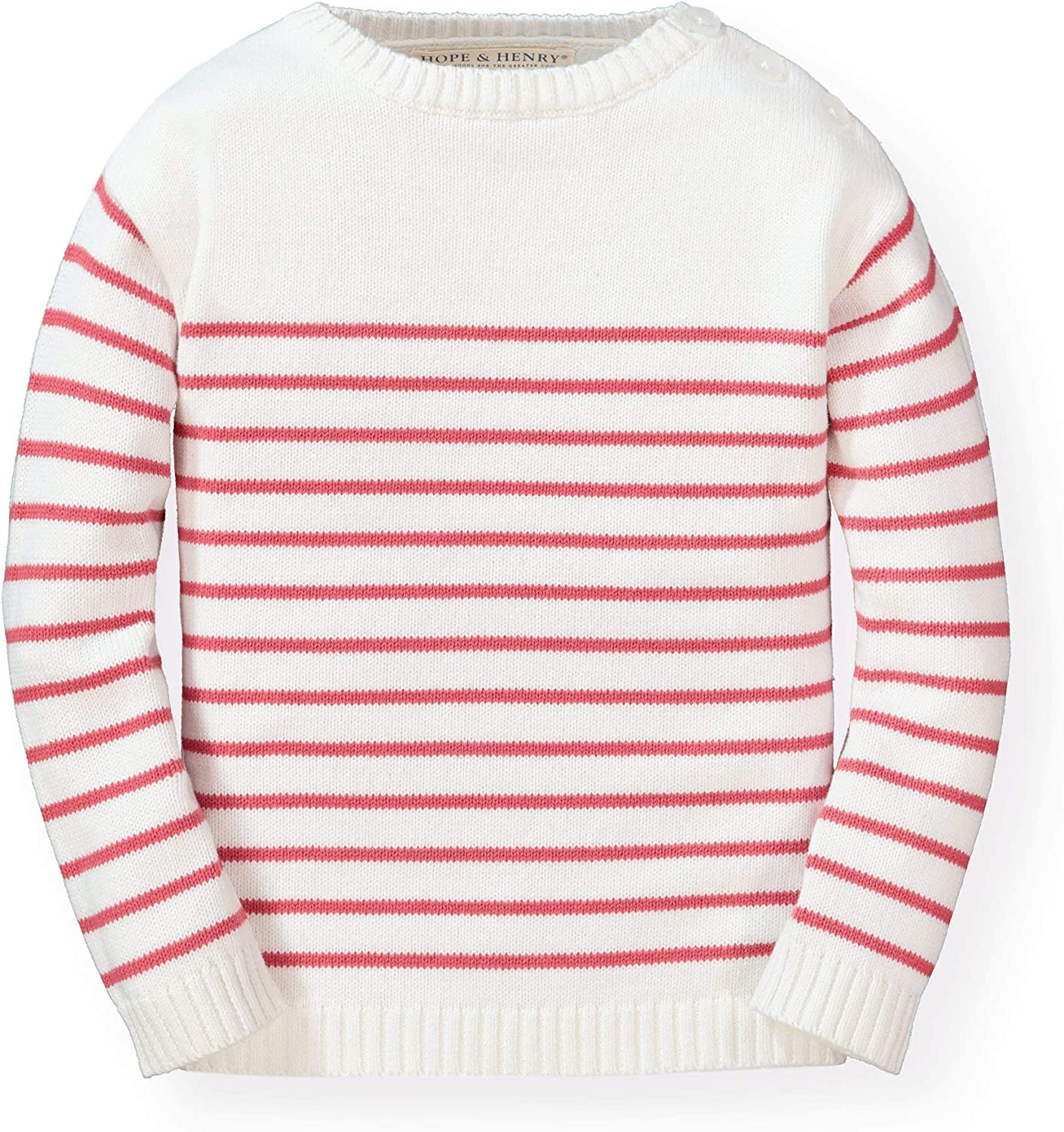 Outlet ☆ Free Shipping Hope Henry Girls' Long Sleeve Sweater French 5 popular Pullover Look