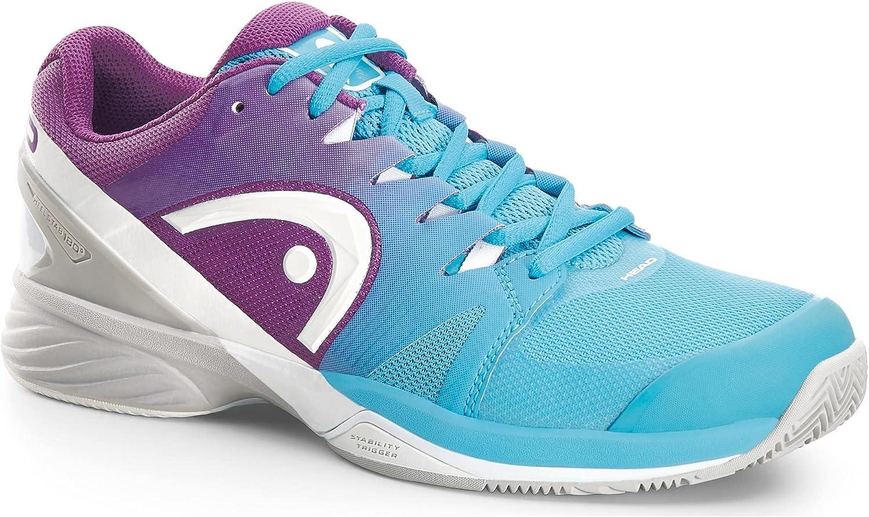 HEAD - Nitro Pro Clay Damen Tennisschuh (blau lila) - EU 37 - UK 4,5