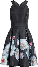 Ted Baker London Black Jelina Chelsea Floral Fit & Flare Dress