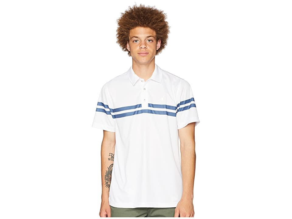 Toes on the Nose Beach Day Performance Polo (Navy) Men