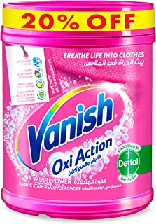 Vanish Laundry Stain Remover Oxi Action Powder for Colors & Whites, 500g @20% Off