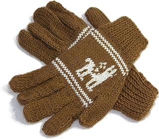 Tumia LAC Alpaca del niño guantes, gama de Natural colours-