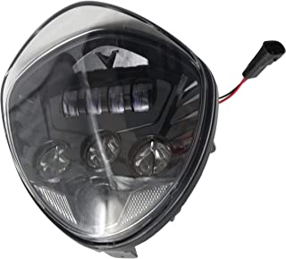 victory cross country hid headlight