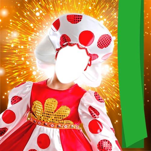 Kinder Kostüm Foto Montage
