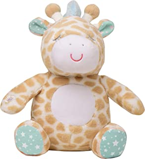Soft Dreams Giraffe Music and Glow Soother, Orange/Mint