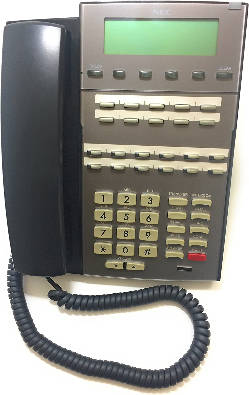 NEC 5 ☆ popular High quality new 1090020 DSX 22-Button - Telephone Black Display