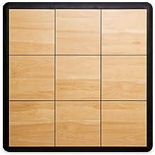 SnapFloors 3X3 Modular Dance Floor Kit (3` x 3`), 21 Piece (Light Maple)