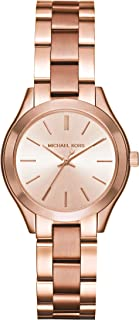 Michael Kors Watches Mini Slim Runway Three-Hand Watch