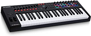 M-Audio Oxygen Pro 49 – 49 Key USB MIDI Keyboard Controller With Beat Pads, MIDI assignable Knobs, Buttons & Faders and Software Suite Included