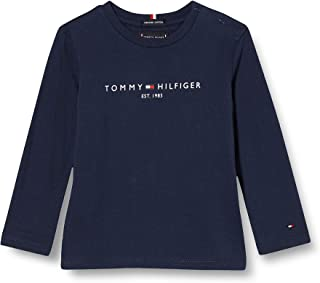 Tommy Hilfiger Essential tee L/S Camisa para Niños