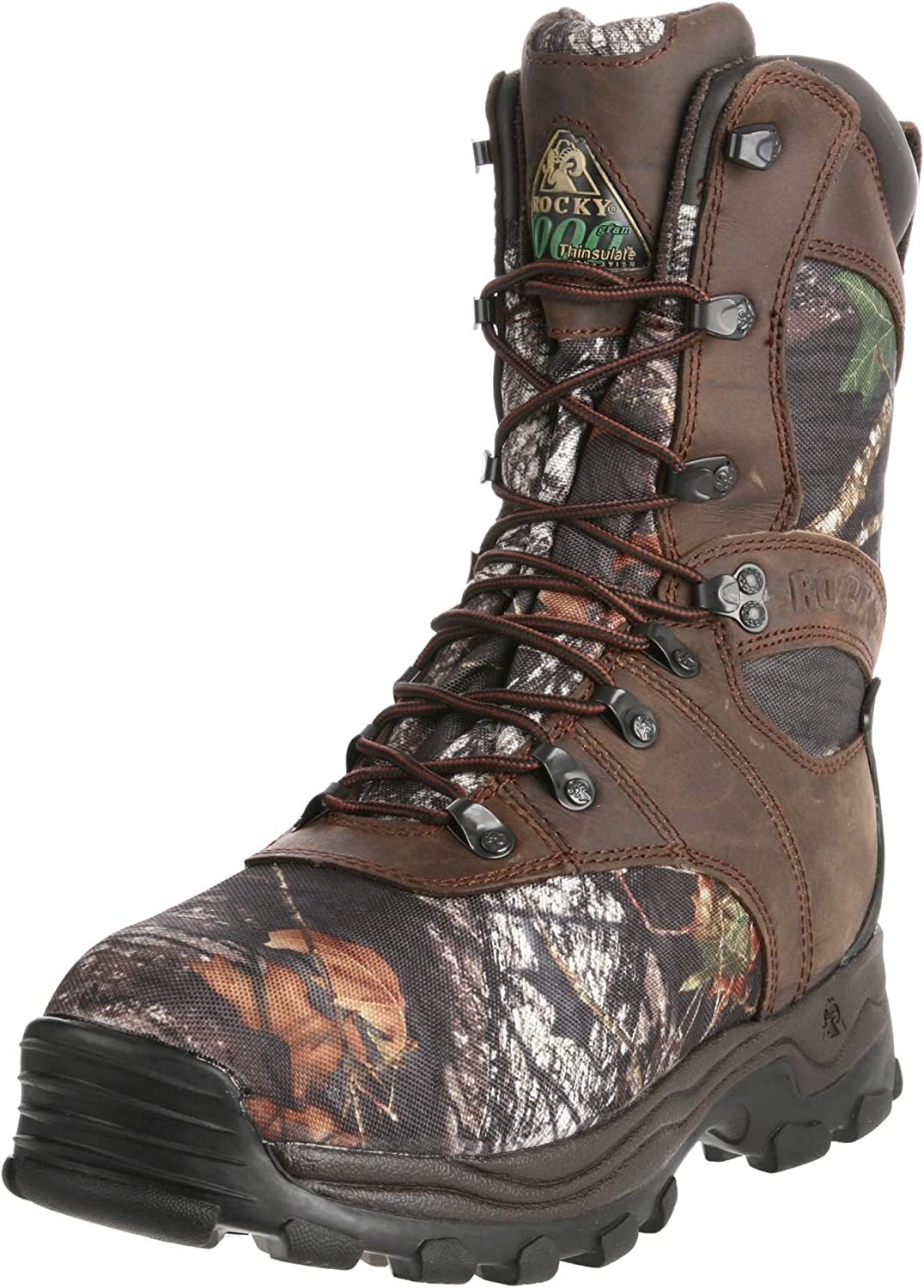 Rocky shoes and Boots Men's Sport Utility Pro Hunting Boot, Mossy Oak
