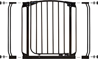 Dreambaby Chelsea Auto Close Security Gate in Black with Extensions