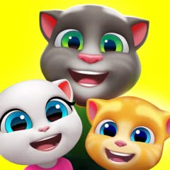 PLAY IN A FULL HOUSE OF BEST FRIENDS: What's better than having one best friend? Having six! Players can join Talking Tom, Angela, Hank, Ginger, Ben and Becca as they move in together in their new home for the first time, and get to know the pets tha...