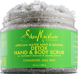 African Wild Water Mint Detox & Stimulate Hand & Body Scrub