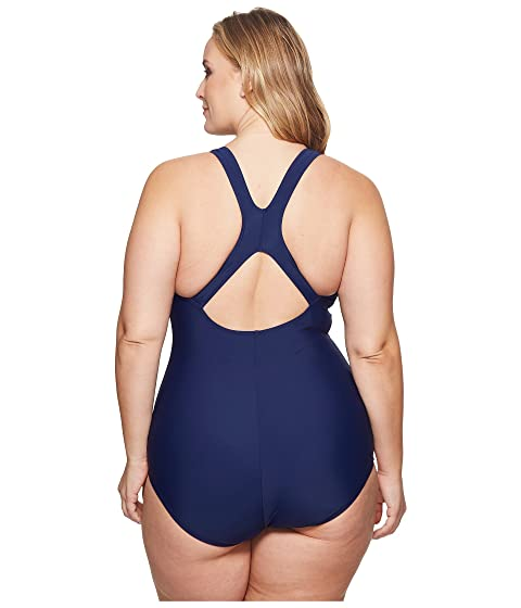 Piece Speedo Size Nautical Conservative Ultraback One Navy Plus fBqfXH