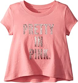 Kate Spade New York Kids - Pretty In Pink Swing Tee (Toddler/Little Kids)