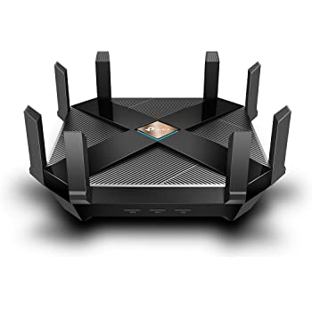 TP-Link AX6000 WiFi 6 Router, 8-Stream Smart WiFi Router - Next-Gen 802.11ax Router, 2.5G WAN Port, 8 Gigabit LAN Ports, MU-MIMO, 1.8GHz Quad-Core CPU, USB 3.0, Free HomeCare(Archer AX6000)