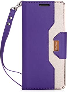 iPhone 8 Plus / 7 Plus Wallet Case, ProCase Flip Fold Card Case Stylish Slim Stand Cover with Wallet Case for Apple iPhone 8 Plus/iPhone 7 Plus -Purple