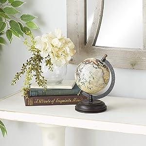 Deco 79 Metal Wood Globe 9