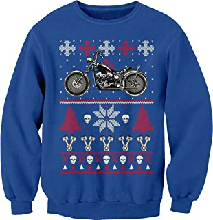 motorcycle ugly sweater