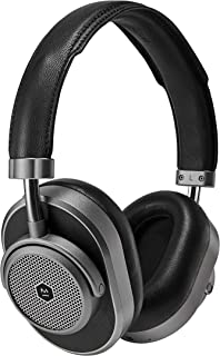Master & Dynamic MW65 Active Noise-Cancelling (Anc) Wireless Headphones – Bluetooth Over-Ear Headphones with Mic