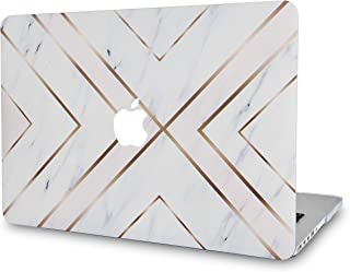 LuvCase Rubberized Plastic Hard Shell Cover Compatible Newest MacBook Pro 13