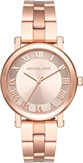 Michael Kors Women's Norie Rose Goldtone Three-Hand Watch
