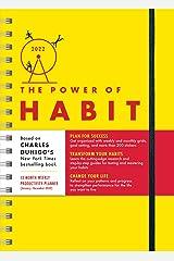 2022 Power of Habit Planner: Plan for Success, Transform Your Habits, Change Your Life (January - December 2022) Agenda ou Calendário