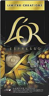 L'Or Espresso Café - 100 Capsules Arabica Catuai intensité 7 - compatibles Nespresso®* (lot de 10 x 10)
