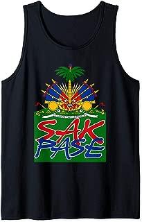 Sak Pase Art | Cute Haitian Creole Pride Design Gift Tank Top