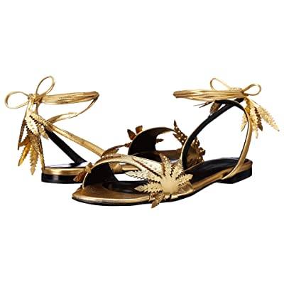 Eugene Riconneaus Leafeetia Flat (Gold) Women