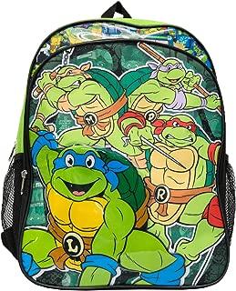 Teenage Mutant Ninja Turtles Boys' Ninja Turtles Backpack, Green, One Size