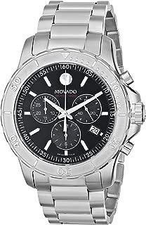 Men's 2600110 Series 800 Black Dial Stainless Steel Bracelet Watch