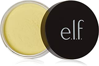 e.l.f. High Definition Loose Face Powder for a Flawless Soft Focus Finish to Your Makeup, Corrective Yellow, 0.28 Ounces