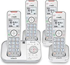 $75 » VTECH VS112-47 DECT 6.0 Bluetooth 4 Handset Cordless Phone for Home with Answering Machine, Call Blocking, Caller ID, Inte...