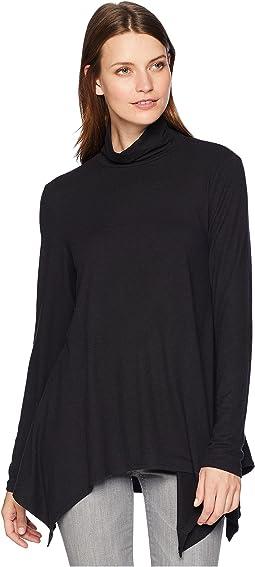 Softest Long Sleeve Tunic Turtleneck