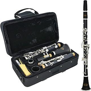 Sonata B1S Clarinete en Sib, Bb, Estuche Acolchado, Grasa de Corcho, Negro